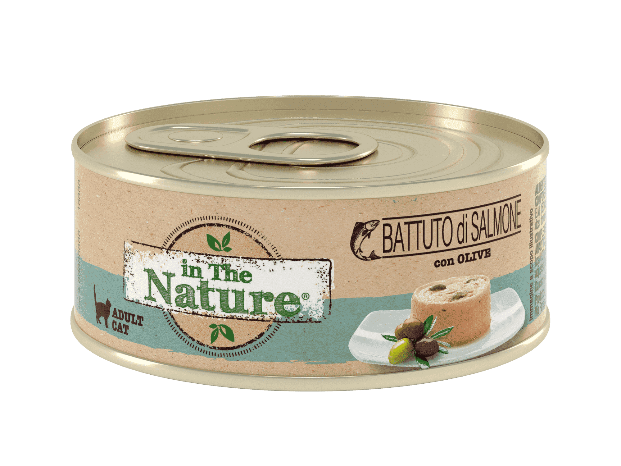 IN THE NATURE BATTUTO DI SALMONE ADULT CAT