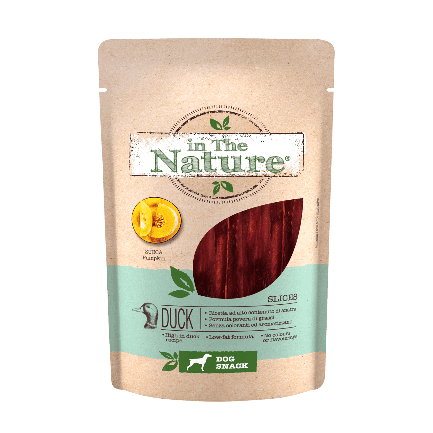 IN THE NATURE® SNACK DOG SLICES